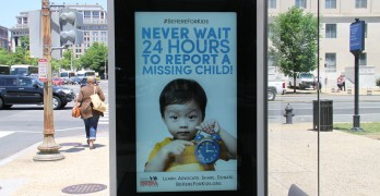 The National Center for Missing & Exploited Children, Clear Channel Outdoor Americas and Clear Channel Airports Launch Year-Long 'Be Here for Kids' Campaign Timed with National Missing Children's Day