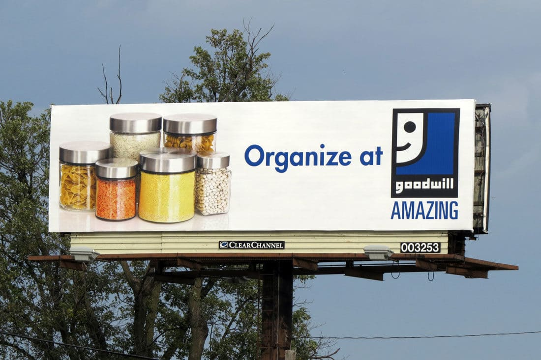 Goodwill Billboard