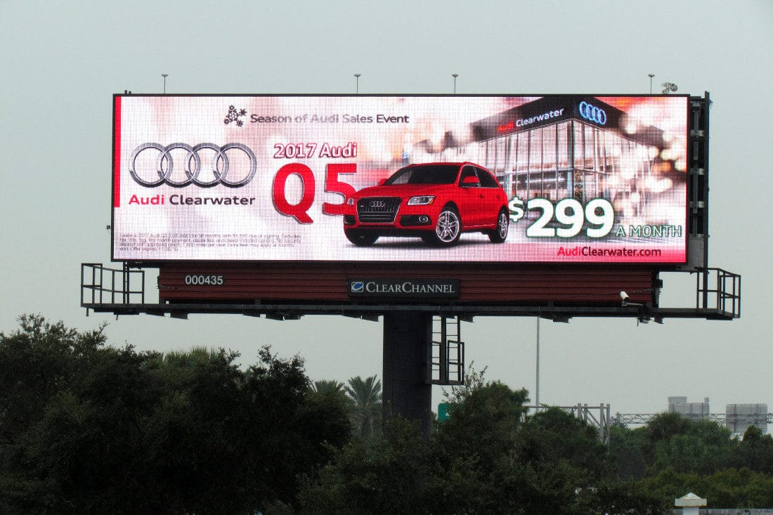 audi clearwater billboard