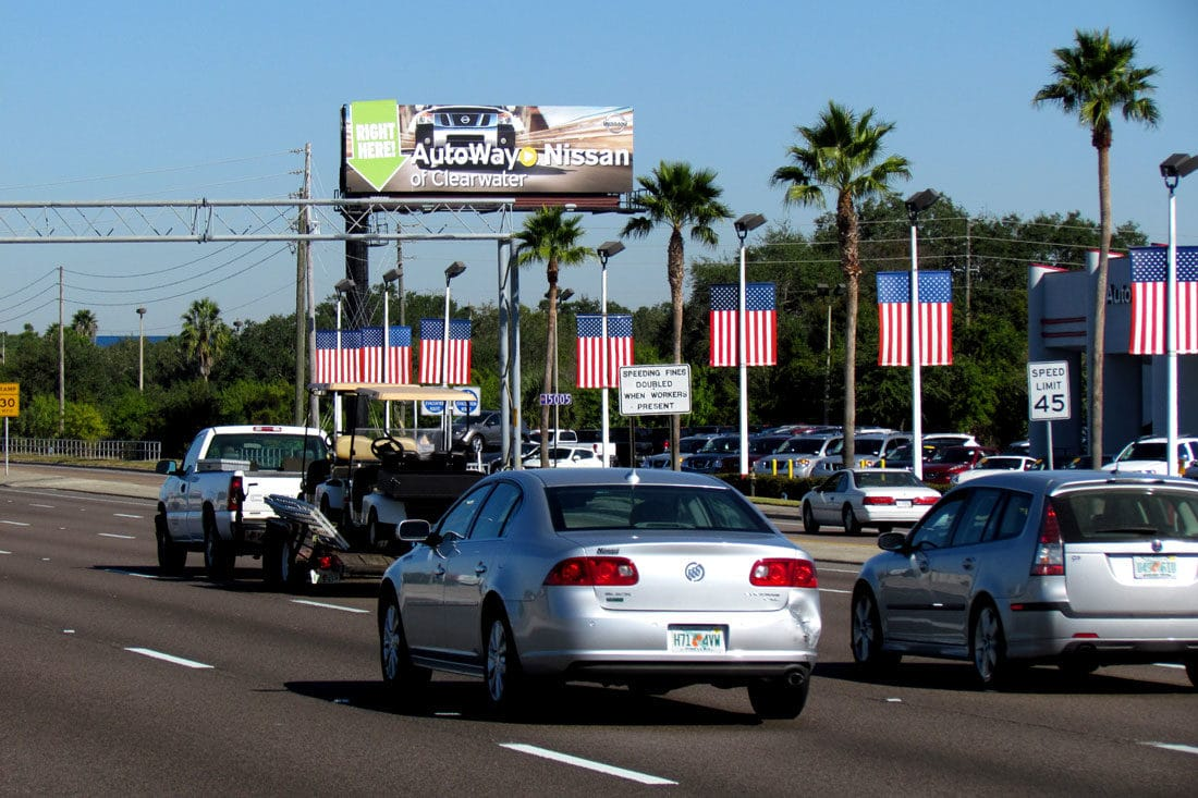 Car Dealerships In Tampa >> Four Ways Auto Dealerships Can Drive Sales With Outdoor Advertising