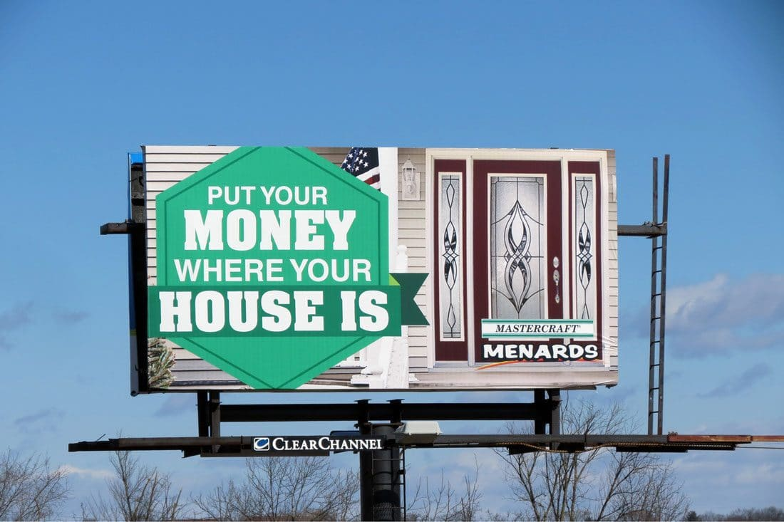 Menards-Billboard